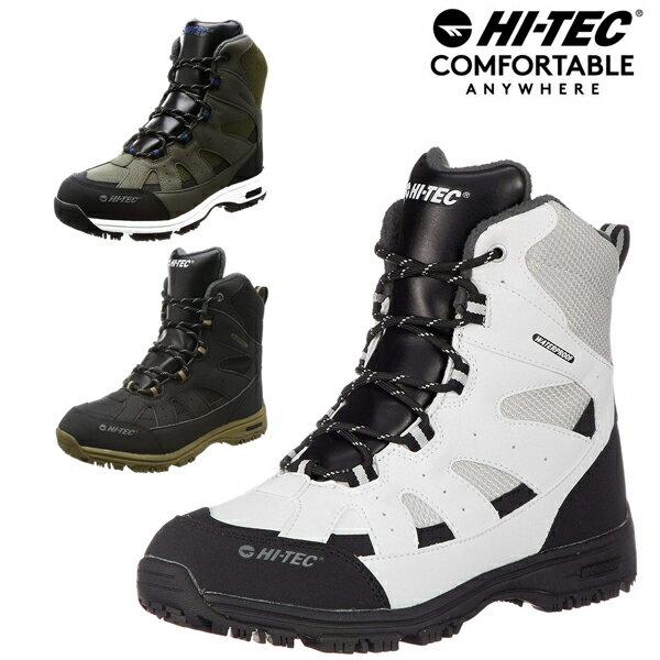HI-TEC/ハイテック ロックネススノーWP メンズ スノーブーツ ダウンブーツ スノトレ スノートレ トレッキングシューズ 雪靴 冬靴 ウインターシューズ ウインターブーツ レディース ユニセックス 防水 HT BTU11 あす楽対応_北海道 BOS