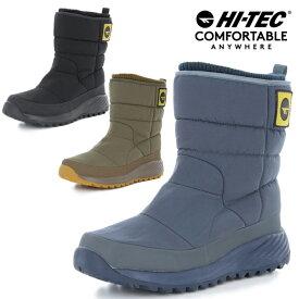 ハイテック 冬靴 冬 靴 スノトレ 滑らない 滑りにくい メンズ レディース ユニセックス スノーシューズ スノーブーツ ミドルブーツ ダウンブーツ アウトドア 防水 防滑 HI-TEC HT BTU17W ワイルドグース WP あす楽対応_北海道 BOS 在庫一掃