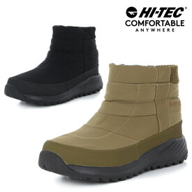 ハイテック 冬靴 冬 靴 滑らない 滑りにくい メンズ レディース ユニセックス スノーシューズ スノーブーツ ショートブーツ ダウンブーツ アウトドア 防滑 防水 HI-TEC HT BTU18W ワイルドグース ショートあす楽対応_北海道 BOS 在庫一掃