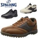 スポルディング spalding メンズパークゴルフシューズ 幅広4E足幅ワイド 防水 男性用靴 CS-256