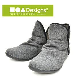 アキレスソルボ/Achilles SORBO フォートゥースリーデザインズ/FOUR TO THREE DESIGNS 軽量 ウインターシューズ ショートブーツ 秋靴 冬靴 個性的 CUD0190 あす楽対応_北海道 BOS