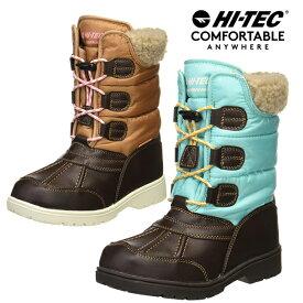 ハイテック キッズ ジュニア 冬靴 冬 靴 子供靴 スノーブーツ スノーシューズ 滑らない 滑りにくい ウインターブーツ 男の子 女の子 ダウンブーツ 防水 防滑 スパイク HI-TEC ユールマンブーツWP HT KID11 あす楽対応_北海道 BOS 在庫一掃