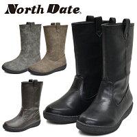 NorthDate/ノースデート/ノースデイトレディーススノーシューズブーツウインターブーツ吸湿発熱耐水防水防滑WグリップスパイクワンタッチスパイクKS12738あす楽対応_北海道BOS