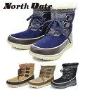 North Date/ノースデイト/ノースデート レディース スノーシューズ スノーブーツ ダウンブーツ 耐水 防水 防滑 Wグリ…