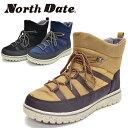 North Date/ノースデイト/ノースデート メンズ スノーブーツ スノーシューズ ウインターブーツ ウインターシューズ 防水 防滑 HYDRO ST…