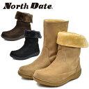 North Date/ノースデート/ノースデイト レディース スノーシューズ ブーツ ウインターブーツ 耐水 防水 防滑 2way MTA1152 あす楽対応_…