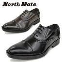 North Date/ノースデイト/ノースデート メンズ 紳士靴 ビジネスシューズ 防滑 鉄ピン ピンスパイク スチールピン 防水 雪道対応 合皮 4…