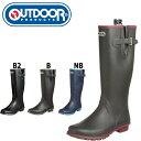 outdoor products/アウトドアプロダクツ Achilles/アキレス レディース ラバーブーツ レインブーツ ロングブーツ ゴム長 長靴 ODB0120 …