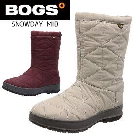 BOGS ボグス レディース ミドル ブーツ スノーシューズ スノーブーツ ウインターシューズ ウインターブーツ ユニセックス 冬 靴 防水 防滑 防寒 SNOWDAY MID 72238 あす楽対応_北海道 BOS