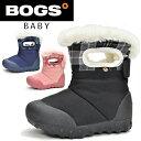 BOGS BABY Bモック ボグス スノーシューズ ベビー キッズ ジュニア スノー ブーツ ウインターシューズ ウインターブーツ 冬 靴 防水 防…