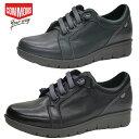 コモンズ レディース スニーカー 婦人靴 靴 本革 コンフォート インポート ハンドメイド 軽量 屈曲 ブラック ネイビー COMMONS COM1550…