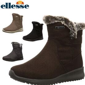 エレッセ ellesse レディース スノーブーツ スノーシューズ ショートブーツ Cortina Winter Boots Mid 冬靴 雪道対応 軽量 EFW9341