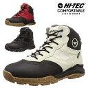 ハイテック メンズ スノトレ 冬 靴 冬靴 滑らない 滑りにくい スノーブーツ スノーシューズ ウインターブーツ ウインターシューズ トレ…