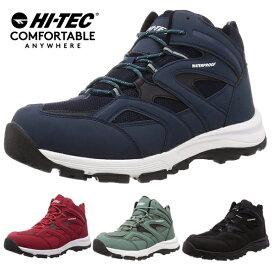 ハイテック メンズ スノトレ 冬靴 冬 靴 滑らない 滑りにくい アウトドア スニーカー スノートレ スノーシューズ カジュアルシューズ ワークシューズ 防水 防滑 HI-TEC/ハイテック ロックネスWP HT HKU29W HKU29 あす楽対応_北海道 BOS