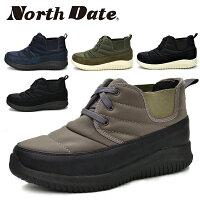 ノースデイトレディースブーツスノーシューズスノーブーツウインターシューズ軽量防滑耐水防水あたたかい防寒靴サイドゴアNorthDateノースデートHP3101あす楽対応_北海道BOS