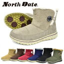 ノースデイト レディース スノーシューズ ブーツ スノーブーツ ウインターシューズ ウインターブーツ スパイク 耐水 防水 防滑 ノース…