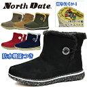 ノースデイト レディース ブーツ 冬 靴 スノーシューズ スノーブーツ ウインターシューズ ウインターブーツ スパイク 耐水 防水 防滑 …
