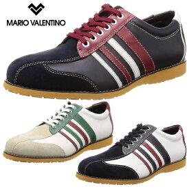 マリオヴァレンティーノ メンズ レザースニーカー 靴 紳士靴 カジュアル 本革 レザー スニーカー 大きいサイズ マドラス madras MARIO VALENTINO MR3040 あす楽対応_北海道 BOS