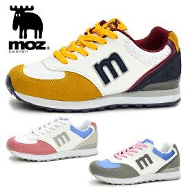 モズ レディース スニーカー MOZ MZ3022 靴 シューズ おしゃれ かわいい 北欧 靴 女性 カジュアル あす楽対応_北海道 プチプラ BOS