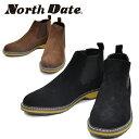 North Date/ノースデイト/ノースデート メンズ スノーブーツ スノーシューズ ウインターシューズ カジュアルシューズ サイドゴア 撥水 …