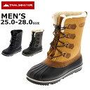 スノトレ スノーブーツ 冬靴 メンズ 25.0 26.0 27.0 28.0 防滑 トレイルマスター trailmaster TR-025 あす楽対応_北海道 在庫一掃