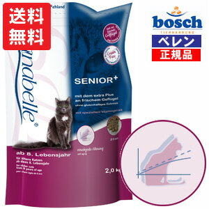 【bosch】【あす楽対応】ボッシュ・ザナベレシニア+グルテンフリーキャットフード(2.0kg)