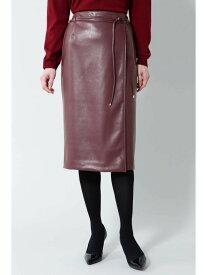 [Rakuten Fashion]【SALE/50%OFF】《Bability》フェイクレザーラップ調スカート BOSCH ボッシュ スカート スカートその他 レッド カーキ【RBA_E】【送料無料】