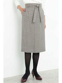【SALE/66%OFF】ガンクラブチェックスカート BOSCH ボッシュ スカート スカートその他 ベージュ【RBA_E】【送料無料】[Rakuten Fashion]