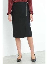 【SALE/66%OFF】ジップラップ調スカート BOSCH ボッシュ スカート スカートその他 ブラック ベージュ レッド【RBA_E】【送料無料】[Rakuten Fashion]