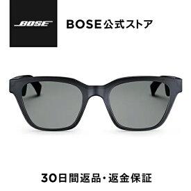 【11%OFF】Bose Frames Alto ウェリントン サングラス Bluetooth オープンイヤー ブラック ユニセックス メンズ レディース 眼鏡 メガネドライブ UVカット
