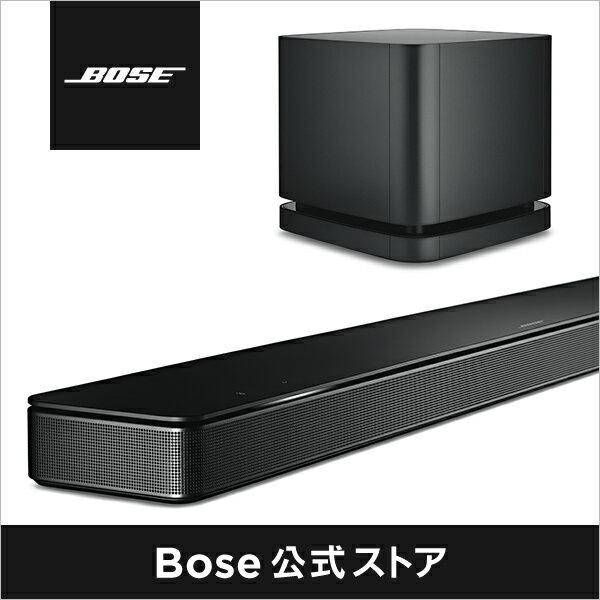 【公式 / 送料無料】 Bose Soundbar 500 + Bassmodule 500 セット / ワイヤレス / サウンドバー / ホームシアター / ブルートゥース / アマゾン アレクサ / Amazon Alexa / Bluetooth / Wi-Fi