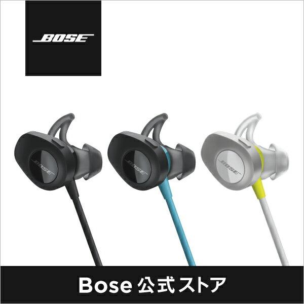 【公式 / 送料無料】 Bose SoundSport ワイヤレス ヘッドホン / ヘッドフォン / イヤホン / 防滴 / Bluetooth / ブルートゥース / NFC対応