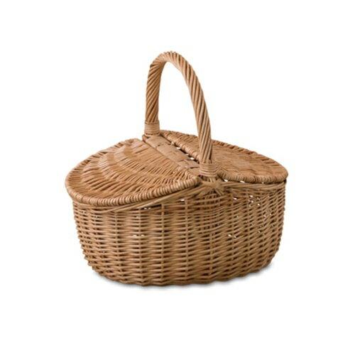 ウィッカーバスケット 10580 □□ DR4 POSH LIVING ポッシュリビング おしゃれ かわいい バック ランドリー ピクニック 北欧雑貨 ナチュラル シンプル かごバッグ キッチン プレゼント