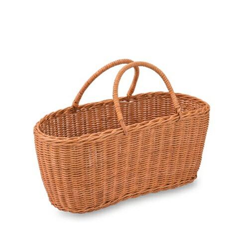 WOVEN BAG バスケット ボート 11570 □□ DR3 POSH LIVING ポッシュリビング おしゃれ かわいい バック ランドリー ピクニック 北欧雑貨 ナチュラル シンプル かごバッグ キッチン プレゼント