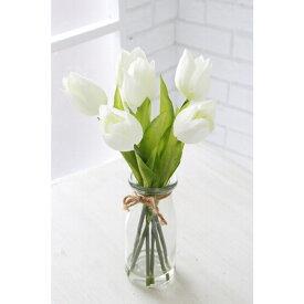 チューリップ・ボトルブーケ TU-17 □□ K5 COVENT GARDEN オブジェ 置物 造花 フェイクフラワー 花束 花 フラワー ディスプレイ プレゼント