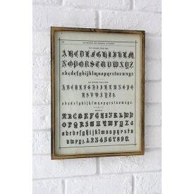 レタリングフレーム FY-15 □□ CL5COVENT GARDEN フレーム インテリア 装飾 壁掛け式 ウォールデコ 額 リビング 部屋 寝室 かわいい 北欧 アンティーク調 コベント ガーデン プレゼント