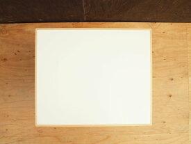 テーブル トップ 送料無料 机 デスク TOP 天板 メラミン 白 ブナ 無垢 縁 エッジ 無塗装 天板A 500×600×24 □□ bosky DIY 組み合わせ自由