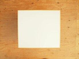 テーブル トップ 送料無料 机 デスク TOP 天板 メラミン 白 ブナ 無垢 縁 エッジ 無塗装 天板C 450×500 □□ bosky DIY 組み合わせ自由