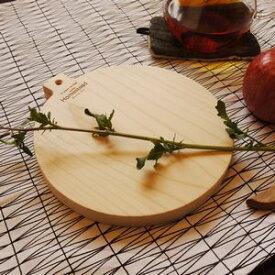 カッティングボード サークル HS1684 □□ DL6 AXCIS 木製 白木 サービングボード チーズボード 北欧 まな板 メープル 木のまな板 円形 アクシス プレゼント