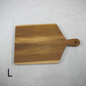 T/Wハンドルカッティングボード/スクエア L 380493 □□ AL1 志成 まな板 木製 ナチュラル ウッド カフェ 北欧 キッチン チーク ギフト まないた 木 生ハム ブレッドボード ウッドトレイ おしゃれ プレゼント