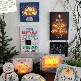 トゥインクル LEDキャンバスボード サンタ クリスマス SNXG3540 SNXG3550 SNXG3560 ◆◆ PL2 SPICE スパイス 看板 オブジェ ディスプレイ ウォールデコ サインプレート プレート ライト ライトアップ 壁面装飾 プレゼント ガーデニング