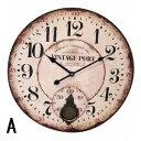 PENDULUM WALL CLOCK 45cm【1J-060】□【OL2】【時計 壁掛け時計 振り子 掛け時計 掛時計 壁掛け アナログ時計 おしゃ…