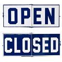OCEAN DECO IRON SIGN OPEN&CLOSED【DRDR7070】□【DR6】【サインボード アイアンサイン サマー オープンクローズ 爽やか...