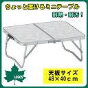 折りたたみ テーブル 膳・2FDテーブル 4840 (メイプル) 73180009 □□ OR8 LOGOS ロゴス 耐熱 耐汚 アルミテーブル ミニテーブル アウ…