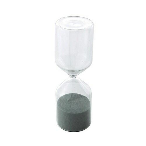 LABO GLASS ガラス砂時計 クリア×ブルーグレー Mサイズ SAND CLOCK YMGR1043 □□ BL2 SPICE スパイス 砂時計 30分 タイマー キッチンタイマー キッチン雑貨 インテリア かわいい ガラス おしゃれ シンプル プレゼント 母の日