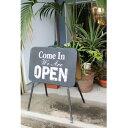 サインデコ OPEN & CLOSED【DRDR6150】■【送料無料 サインボード オープン クローズ ウエルカムボード ウォールデコ 看板 アンティー…