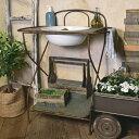 【EM05】□【FR】ストラノ スタンドウォッシュボウル【送料無料 ガーデン ガーデニング ディスプレイ 洗面 洗面器 ウ…