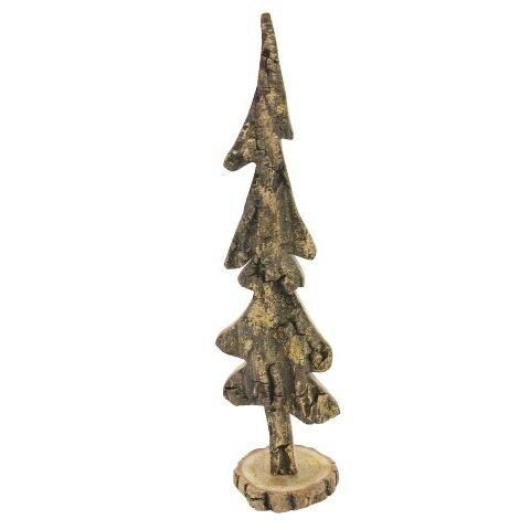 LOG TREE Lサイズ 1240 テーブルツリー □□ L1 magnet クリスマスツリー クリスマス ツリー ログツリー 木製 シンプル クリスマスオーナメント ラメ デコレーション ゴールドラメ キラキラ ツリー 46CM 木 中型 ウッド おしゃれ プレゼント