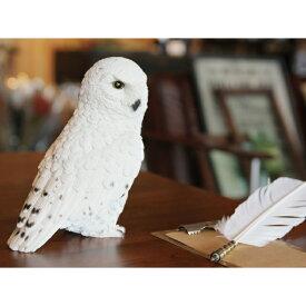 貯金箱 フクロウ かわいい PET BANK OWL SNOWY OWL 1278 □□ BR5 magnet ふくろう 梟 鳥 リアル かっこいい カワイイ オブジェ ディスプレイ 動物 アニマル フィギュア 小物 インテリア 雑貨 置物 プレゼント