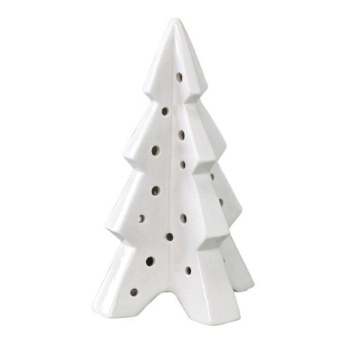 クリスマス MATURE LEDライト ツリー XDXN3040 □□ PL4 SPICE スパイス クリスマスオブジェ クリスマスデコレーション ホワイト 白 北欧 ロマンチック 磁器 クリスマスデコ クリスマス雑貨 置き物 飾り プレゼント